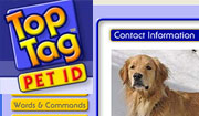 TopTag Pet ID application
